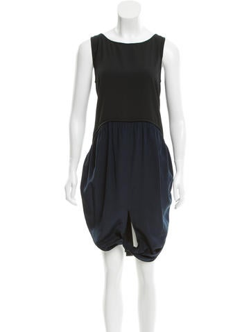 Rachel Comey Sleeveless Lace-Trimmed Dress
