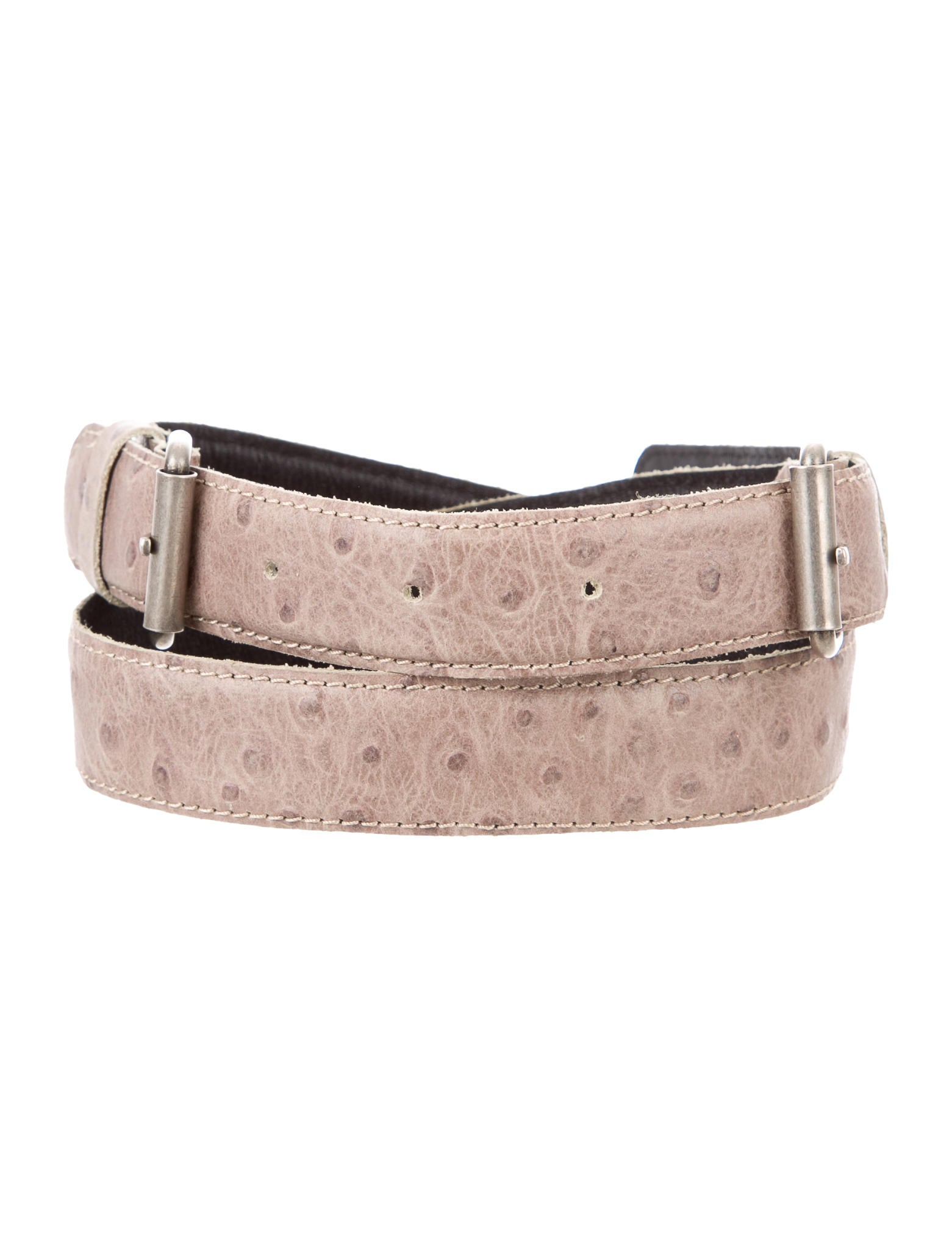 comey embossed leather belt accessories