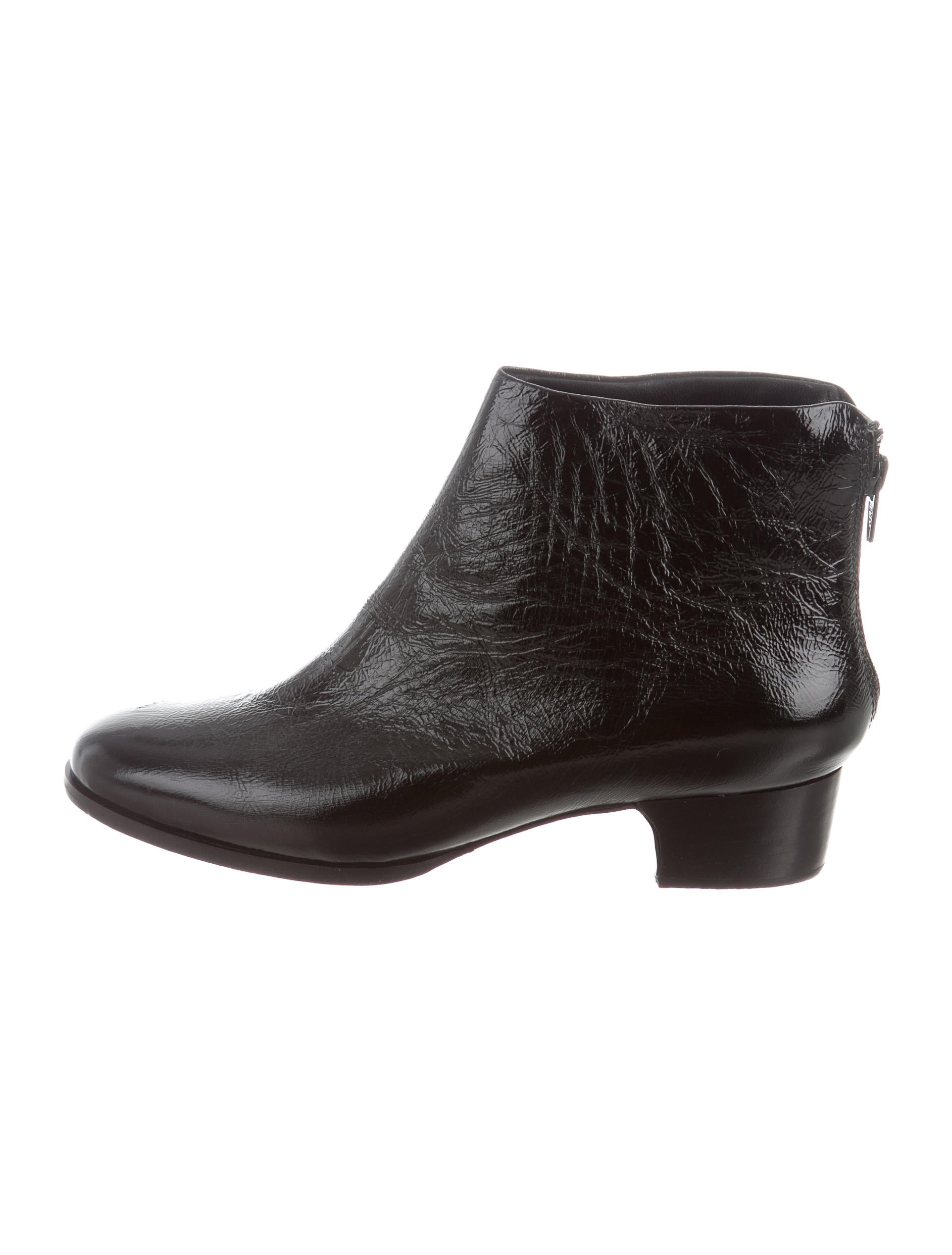 Rachel Comey Patent Leather Ankle Boots w/ Tags