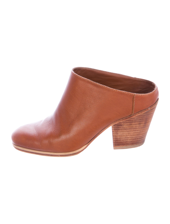 view sale online Rachel Comey Mars Square-Toe Mules top quality online JXWGrNnL