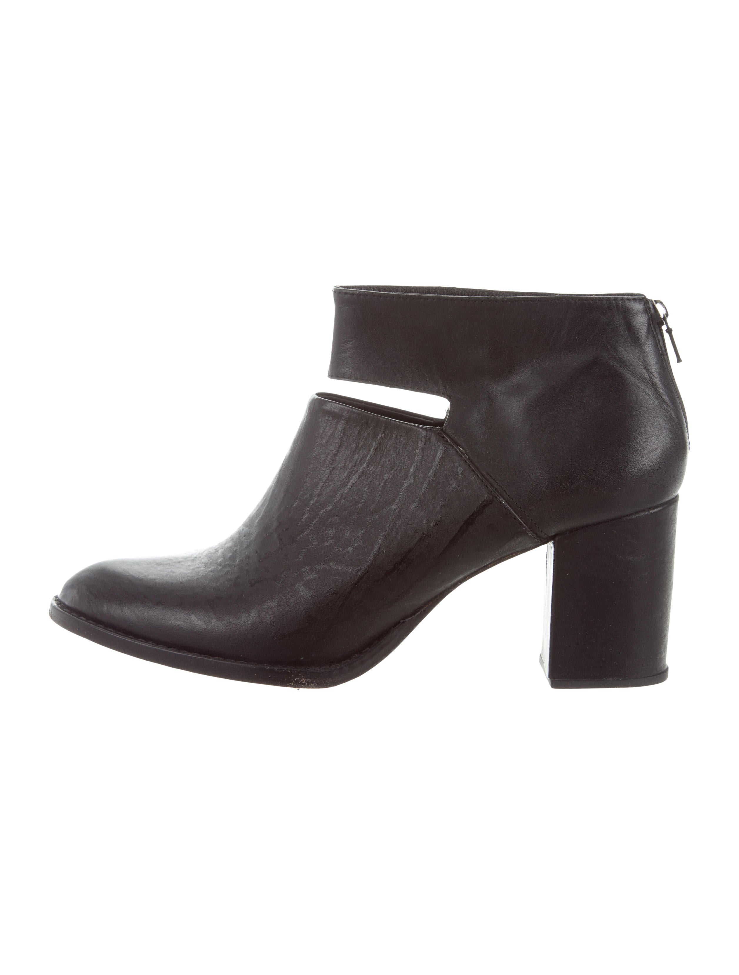 Rachel Comey Semi Pointed-Toe Leather Booties cheap sale perfect pre order online order cheap online find great cheap price discount factory outlet 5eWpGDj