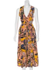 bac53b26b3d3 Rachel Comey. Silk Floral Jumpsuit