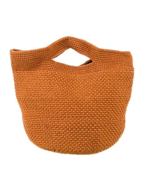 Rachel Comey Crochet Handle Bag Brown