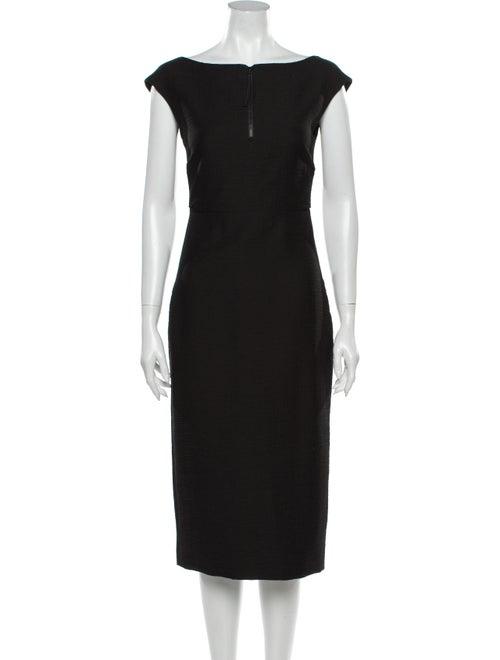 Rachel Comey Leonard Dress Midi Length Dress Black