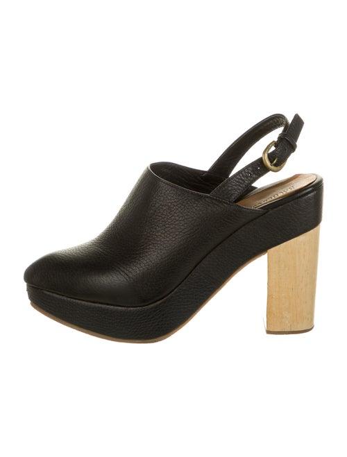 Rachel Comey Leather Slingback Pumps Black