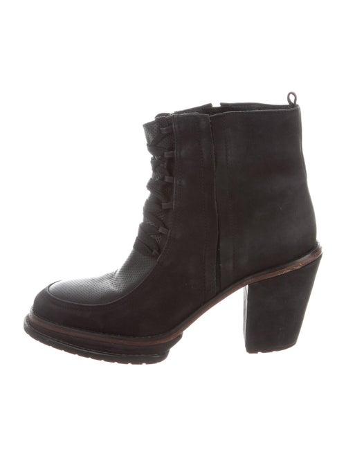 Rachel Comey Leather Lace-Up Boots Black