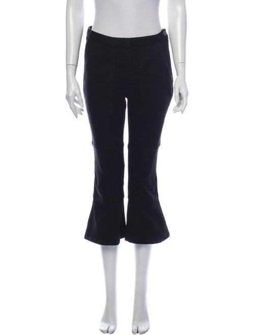 Rachel Comey Mid-Rise Flared Jeans Black
