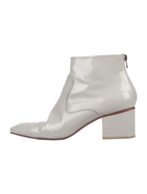 Rachel Comey Patent Leather Boots Grey
