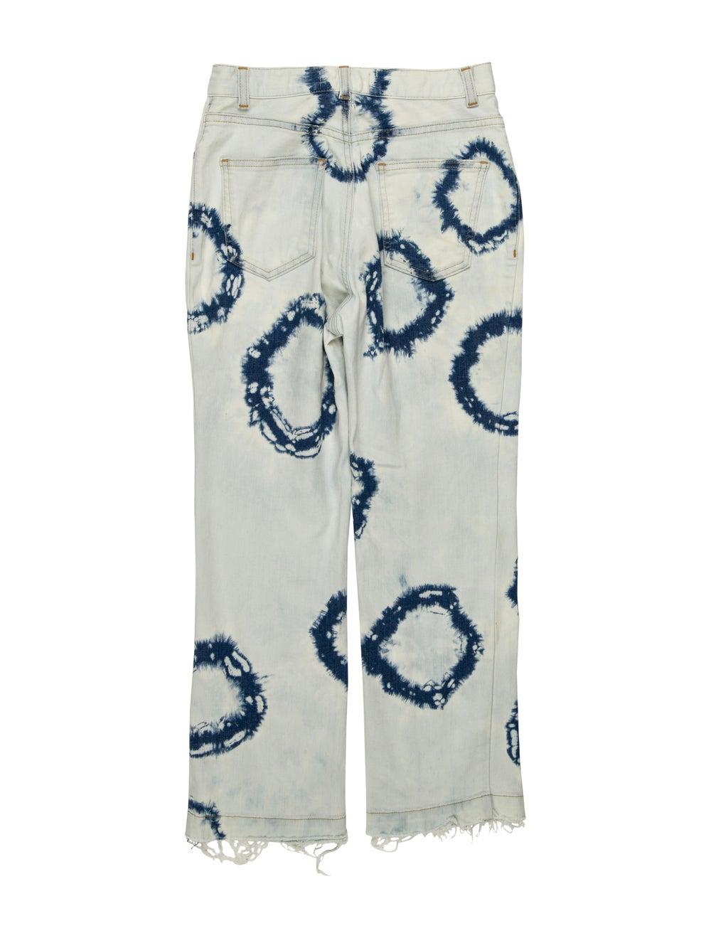 Rachel Comey Mid-Rise Straight Leg Jeans Blue - image 2