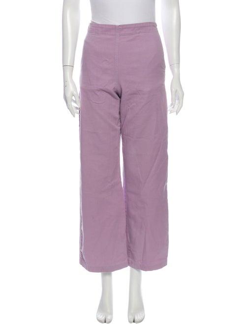 Rachel Comey Wide Leg Pants Purple