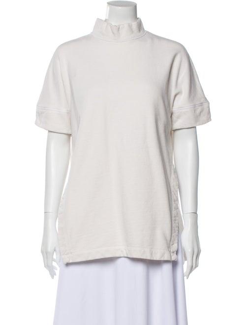 Rachel Comey Mock Neck Short Sleeve T-Shirt