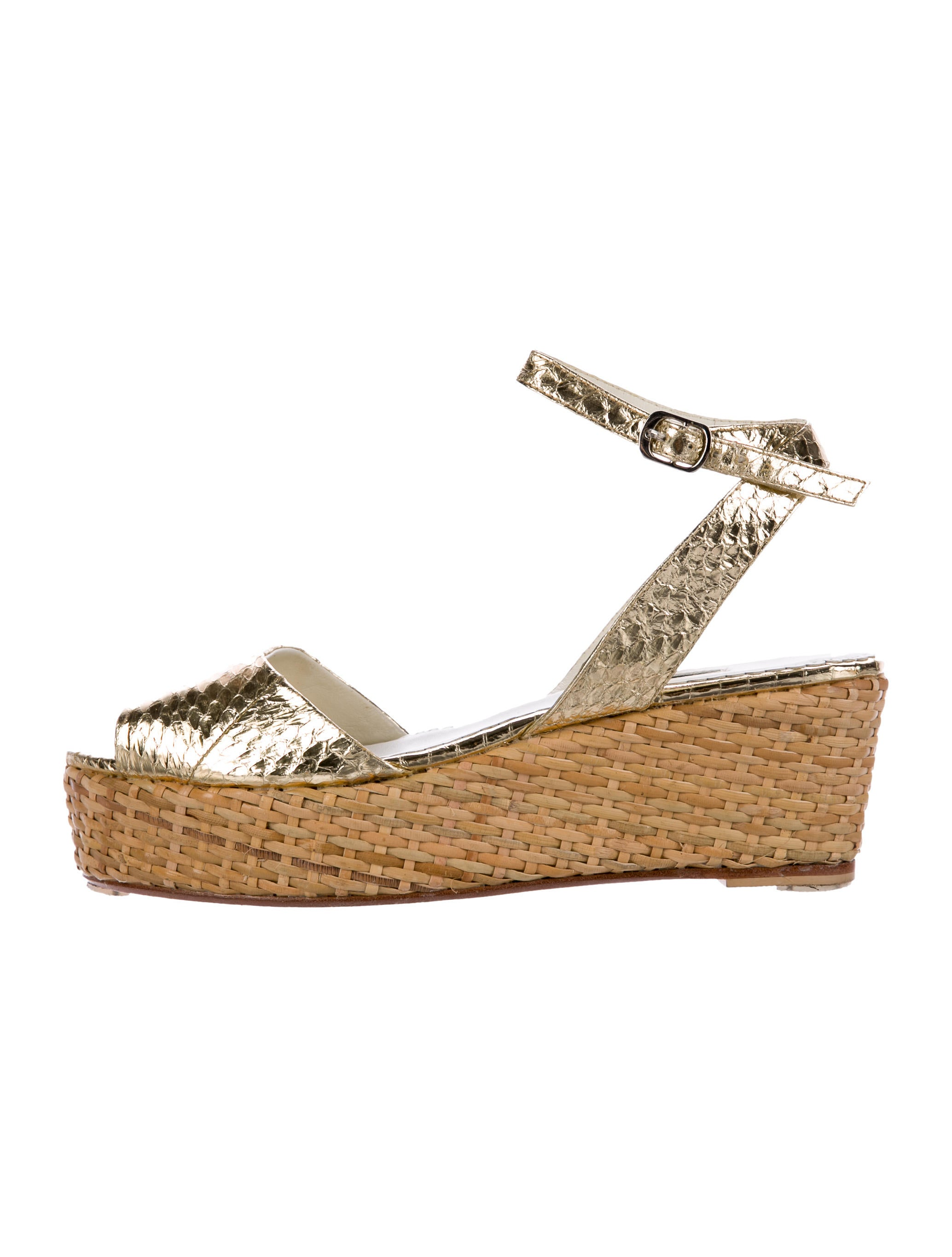 Rafe Snakeskin Wedge Sandals original cheap online DHnvbhU2ZW