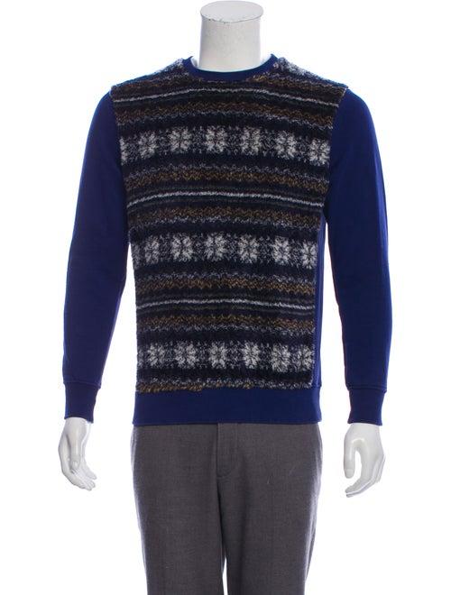 Raf by Raf Simons Pullover Sweatshirt blue