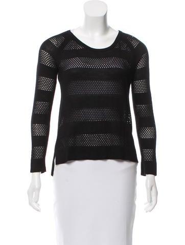 Rag & Bone Knit Asymmetrical Sweater None