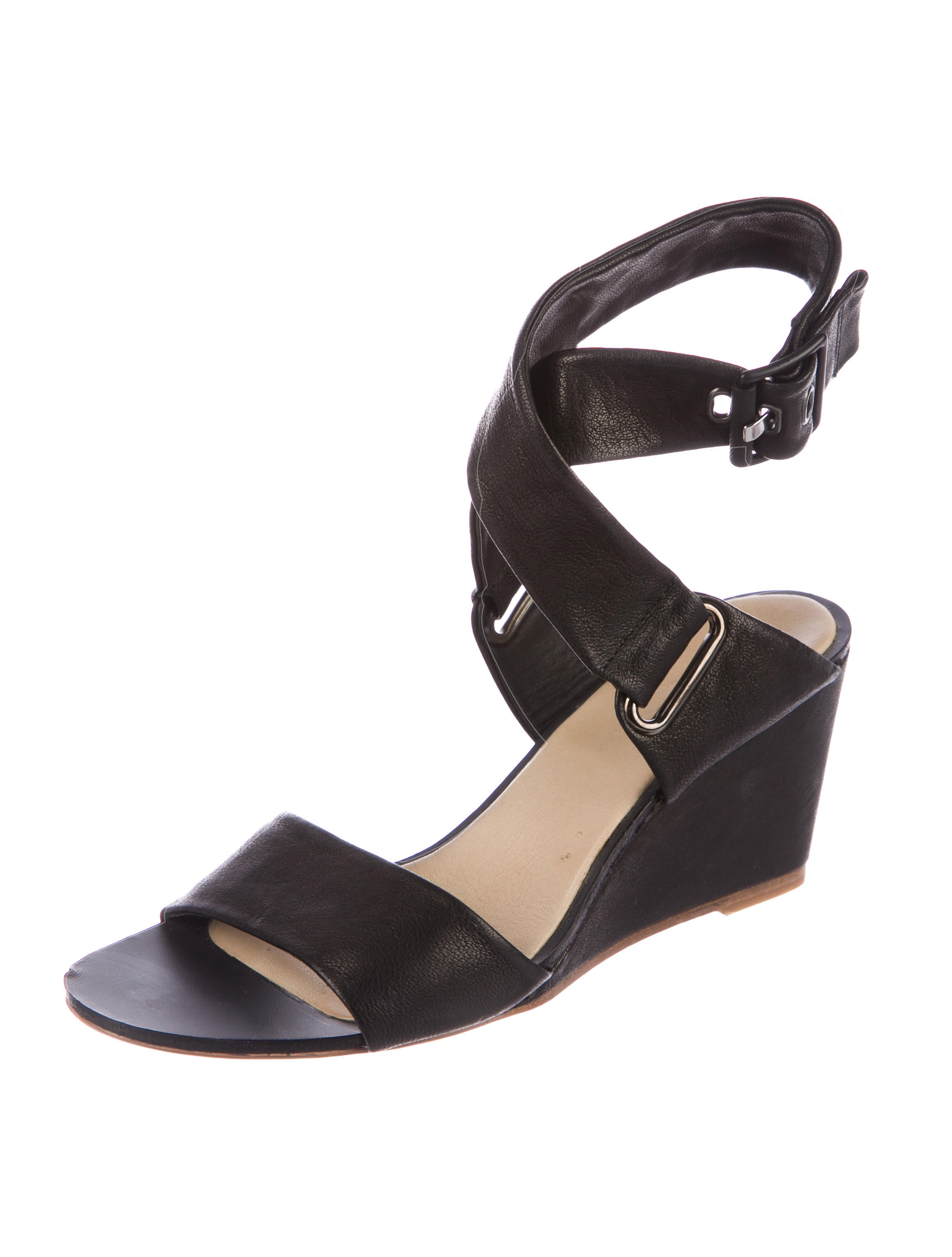 Rag & Bone Leather Wrap-Around Wedges browse cheap price clearance pre order outlet real ZZRDJAN