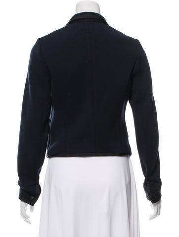 Merino Wool Knit Blazer