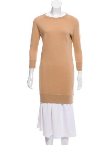 Rag & Bone Cashmere Mini Sweater Dress None