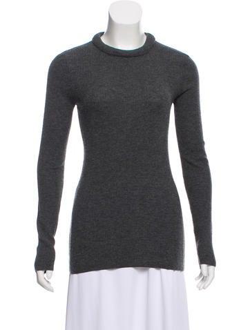 Rag & Bone Wool Rib Knit Sweater None