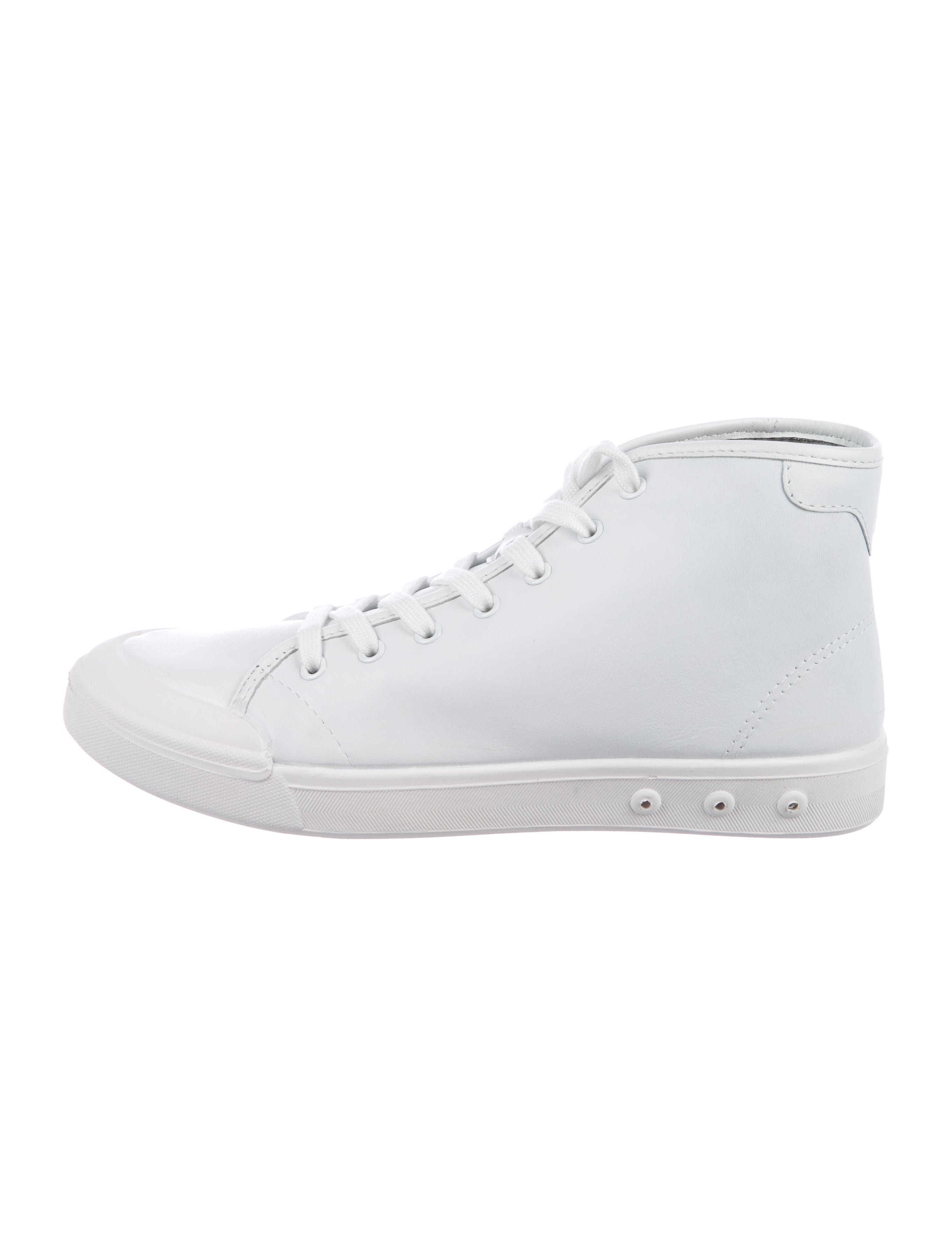 Rag & Bone Standard Issue Leather High-Top Sneakers w/ Tags best store to get online cheap sale best seller dKmbb