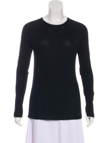 Rag & Bone Long Sleeve Cashmere Top None
