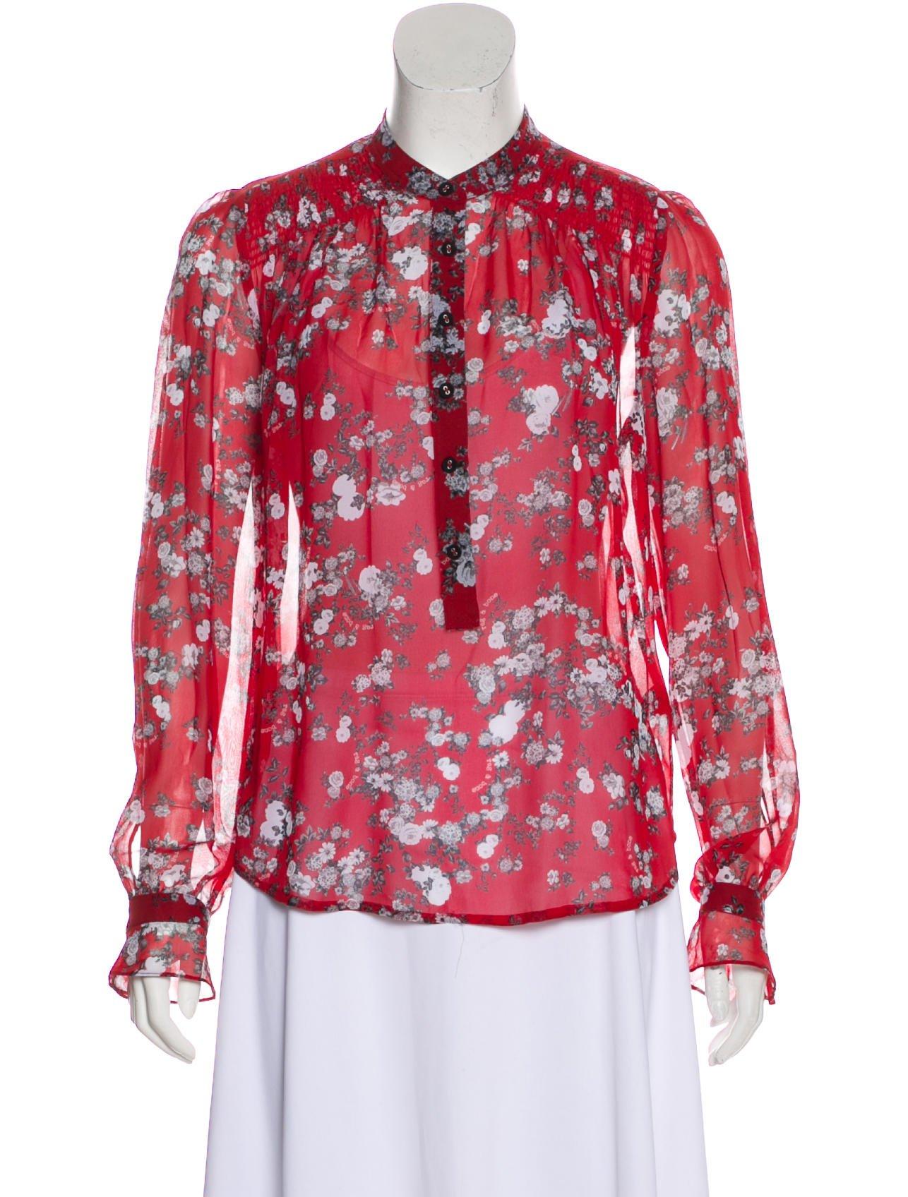 9a99c316de04f9 Rag & Bone Susan Button-Up Blouse - Clothing - WRAGB124317 | The ...