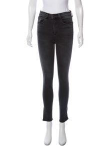 e698665dfe68 Rag   Bone. High-Rise Skinny Jeans
