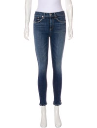 Mid-Rise Skinny Leg Jeans image 1