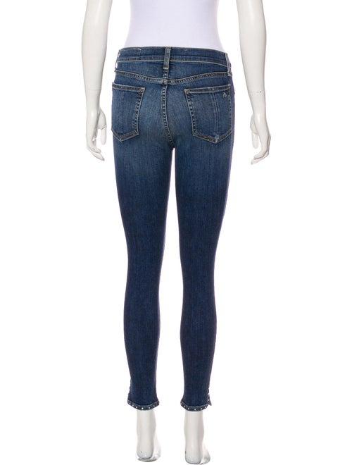 Mid-Rise Skinny Leg Jeans