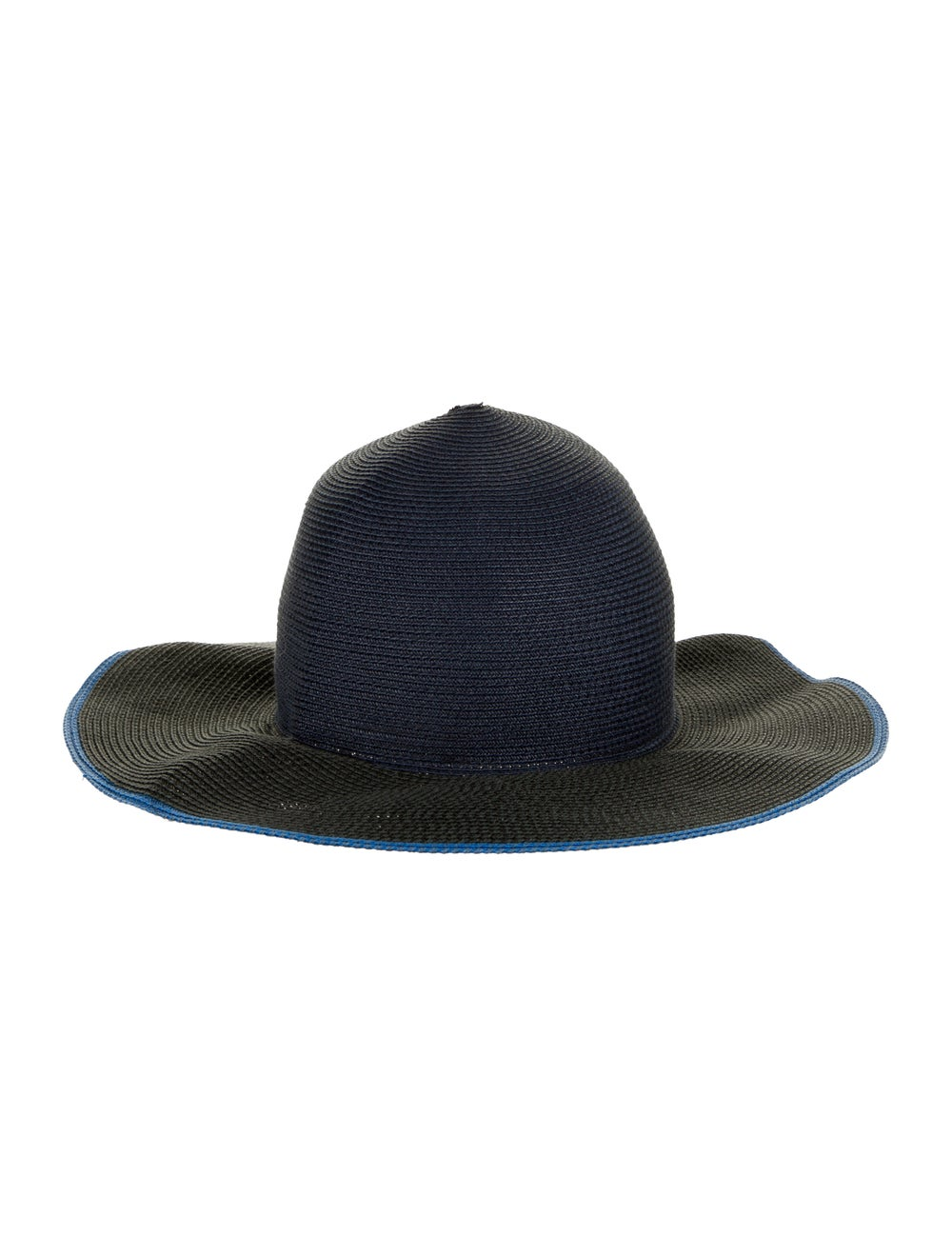 Rag & Bone Straw Wide-Brim Hat navy - image 2