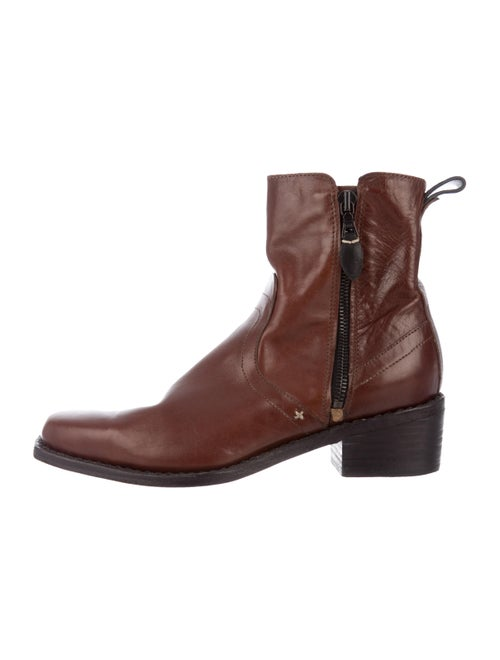 Rag & Bone Ankle Boots Leather Boots Brown