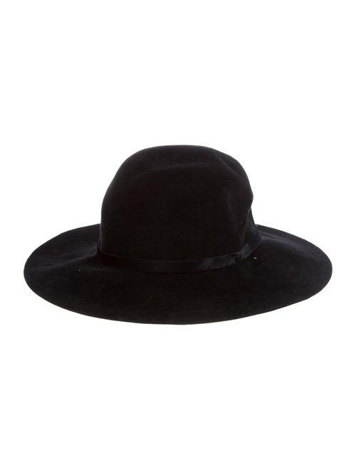 Rag & Bone Felt Fedora Hat Black