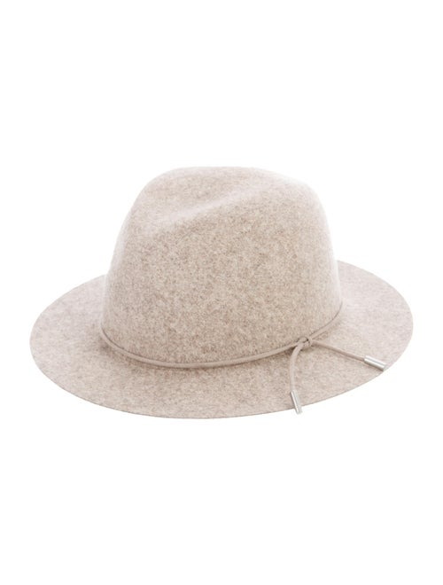 Rag & Bone Wool Fedora Hat Beige