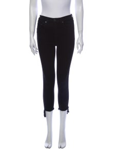 Rag & Bone Mid-Rise Skinny Leg Jeans