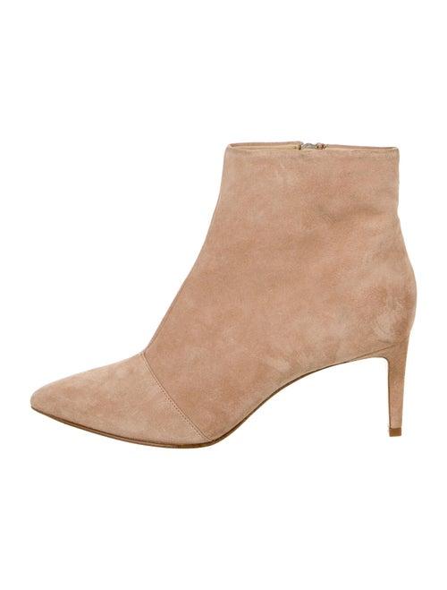 Rag & Bone Suede Boots Pink