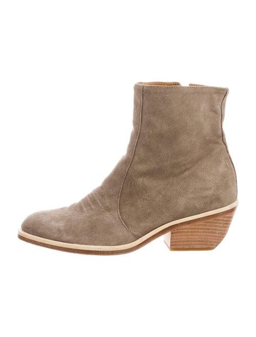 Rag & Bone Suede Western Boots