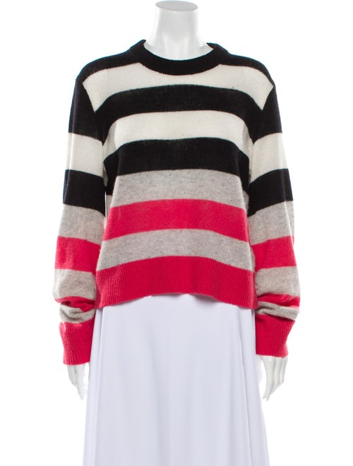 Rag & Bone Cashmere Striped Sweater Pink
