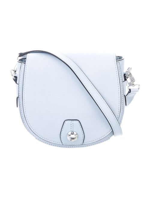 Rag & Bone Leather Crossbody Bag Blue