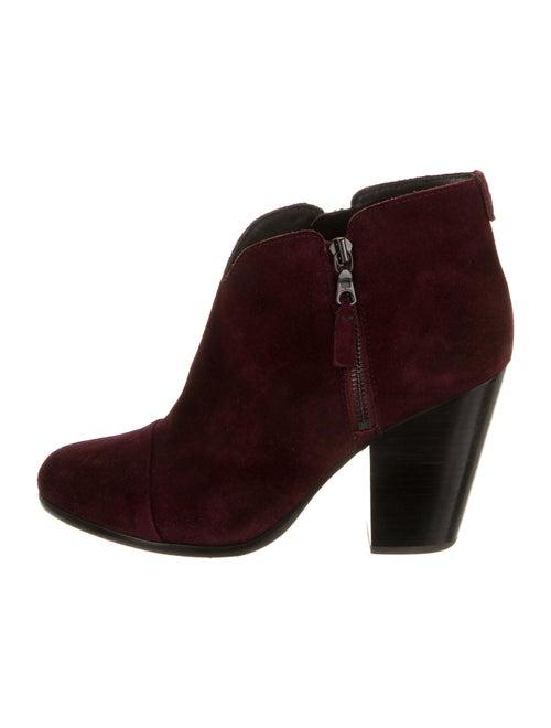 Rag & Bone Suede Boots Purple