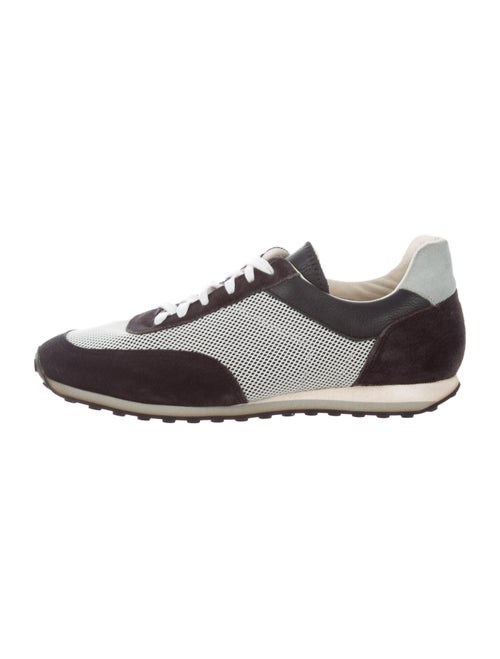 Rag & Bone Colorblock Pattern Sneakers Grey