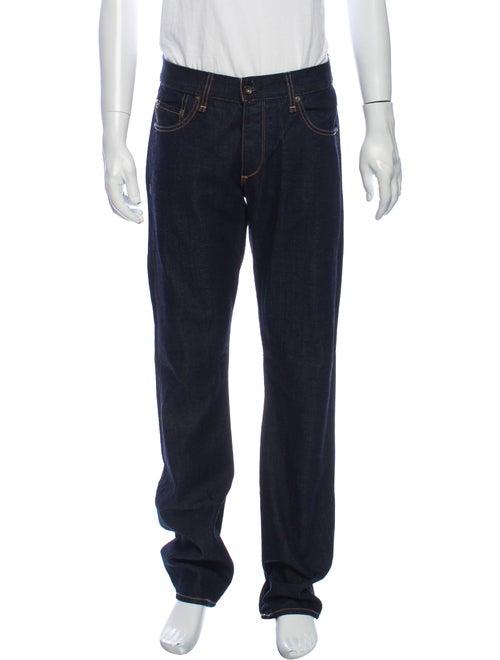 Rag & Bone Straight-Leg Jeans Blue