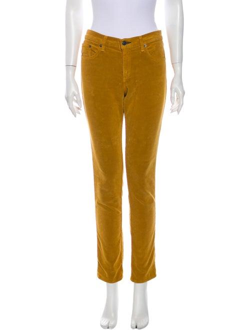 Rag & Bone Skinny Leg Pants Yellow