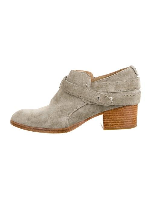 Rag & Bone Suede Boots Green