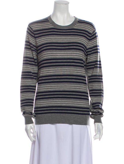 Rag & Bone Merino Wool Striped Sweater Wool