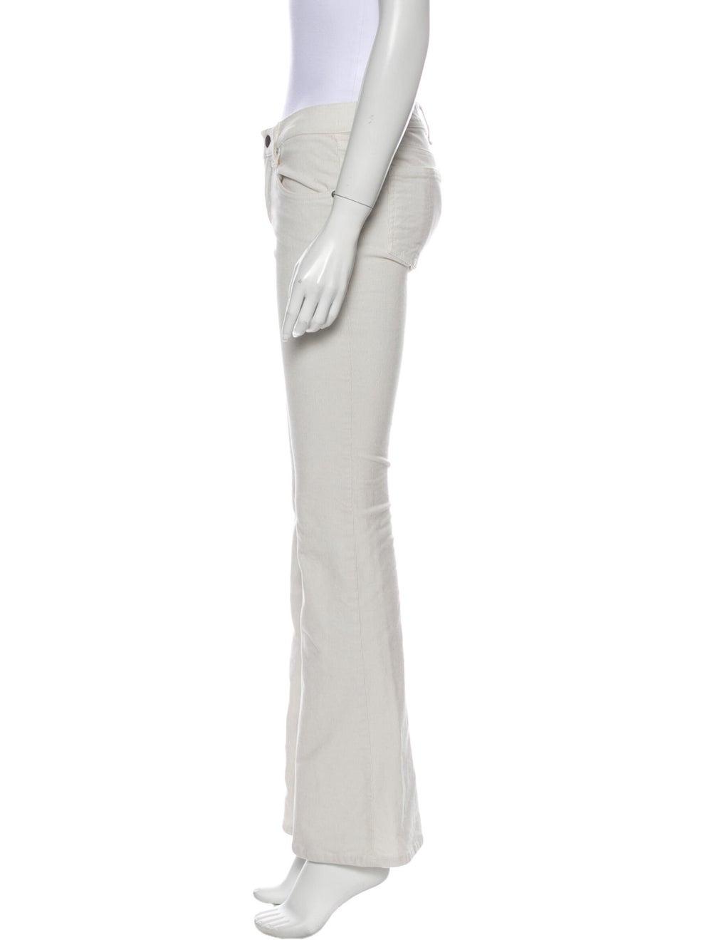 Rag & Bone Flared Pants White - image 2