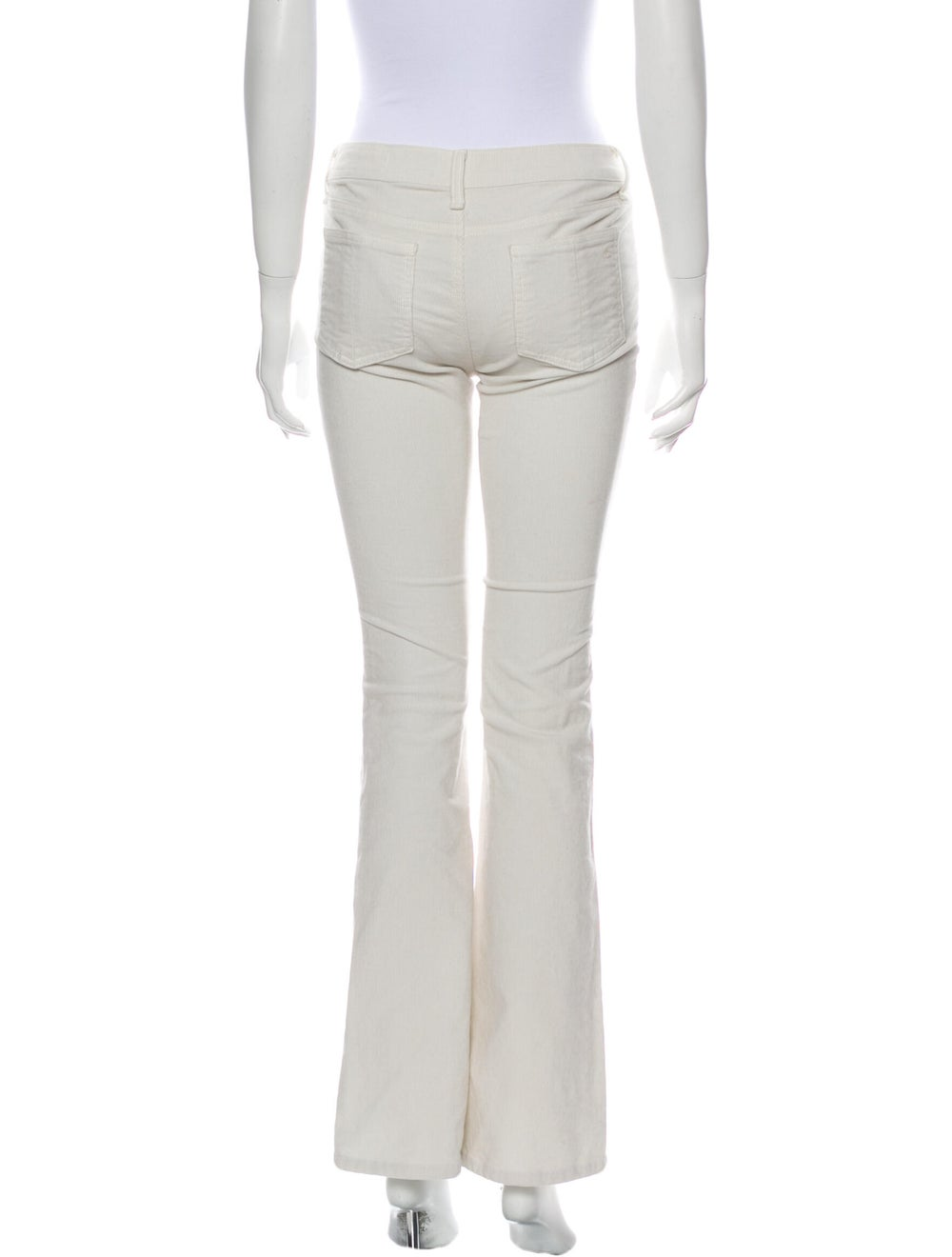 Rag & Bone Flared Pants White - image 3