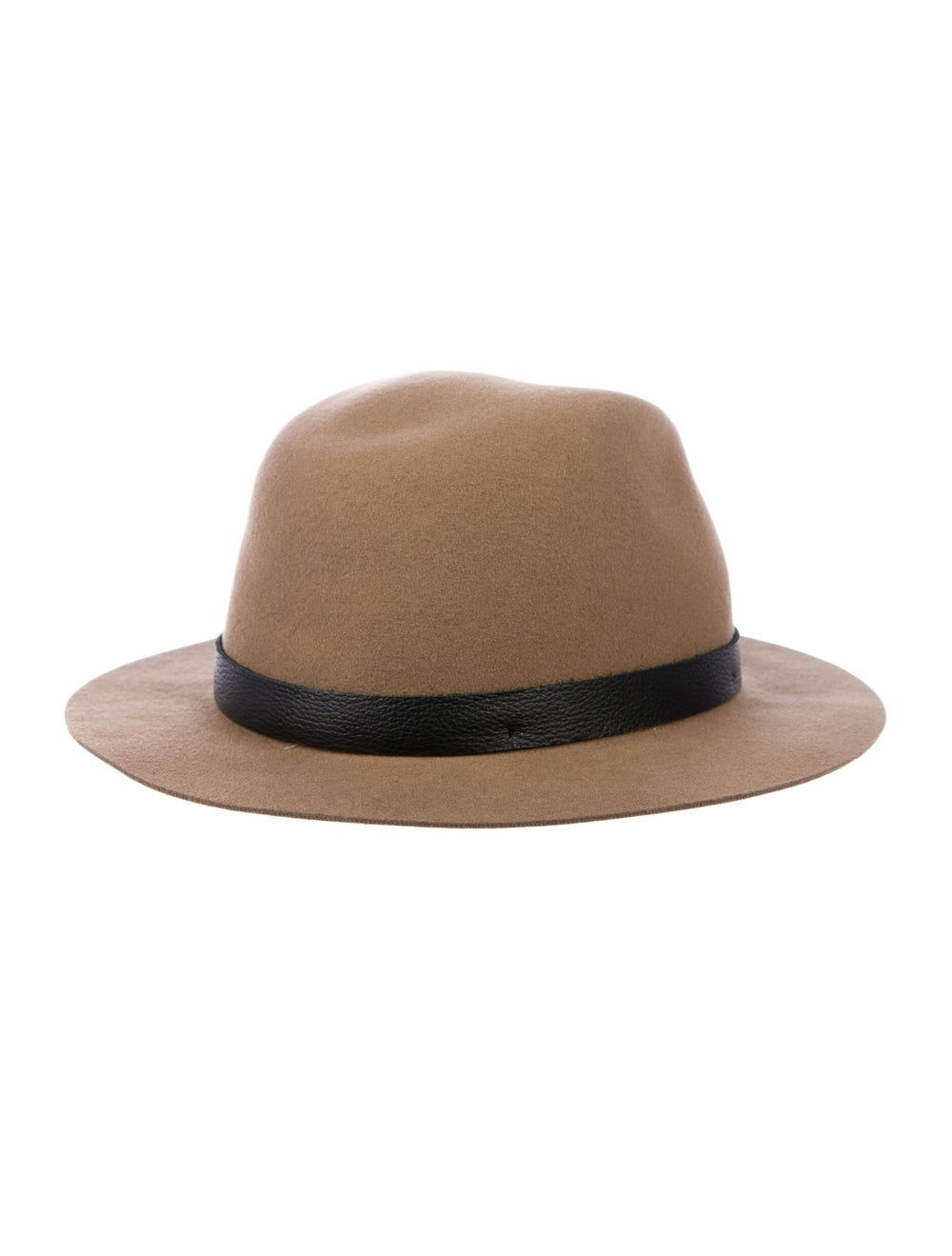 Rag & Bone Wool Fedora Hat Brown - image 2