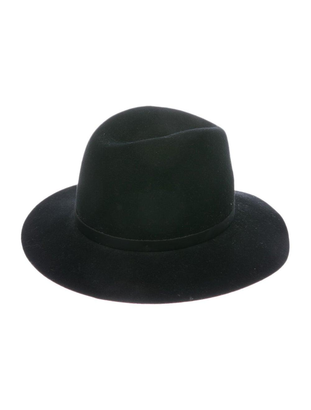 Rag & Bone Wool Fedora Hat Black - image 2
