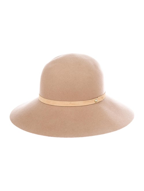 Rag & Bone Wool Fedora Hat Tan