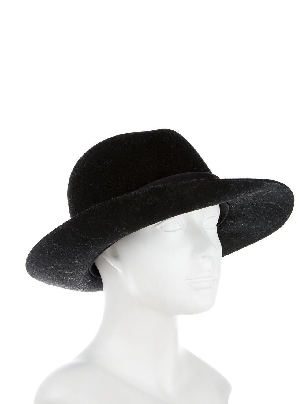 Rag & Bone Wool Fedora Hat Black - image 3