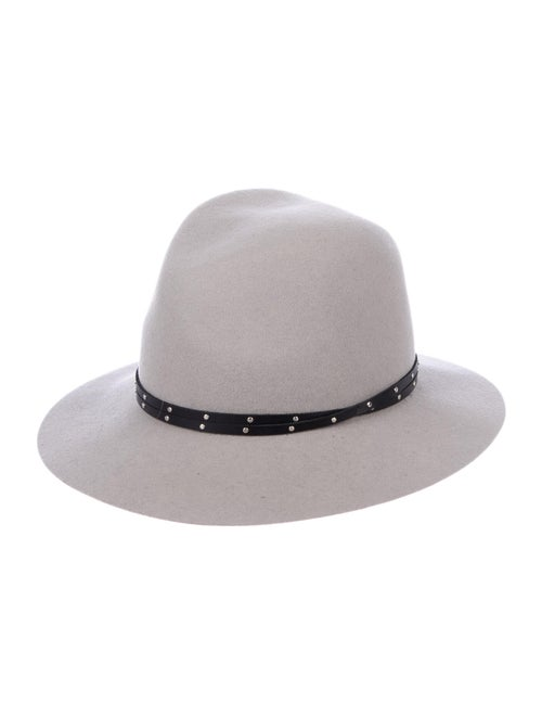 Rag & Bone Wool Floppy Fedora grey